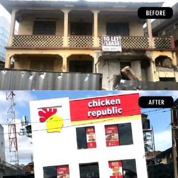 Development Project: Before And After Renovation