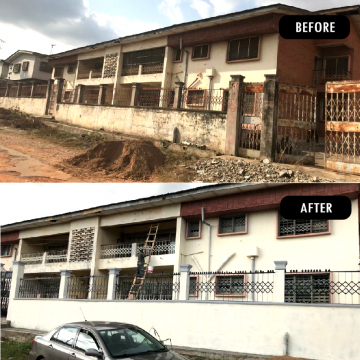 Development Project At Ring-Road: Before And After Renovation